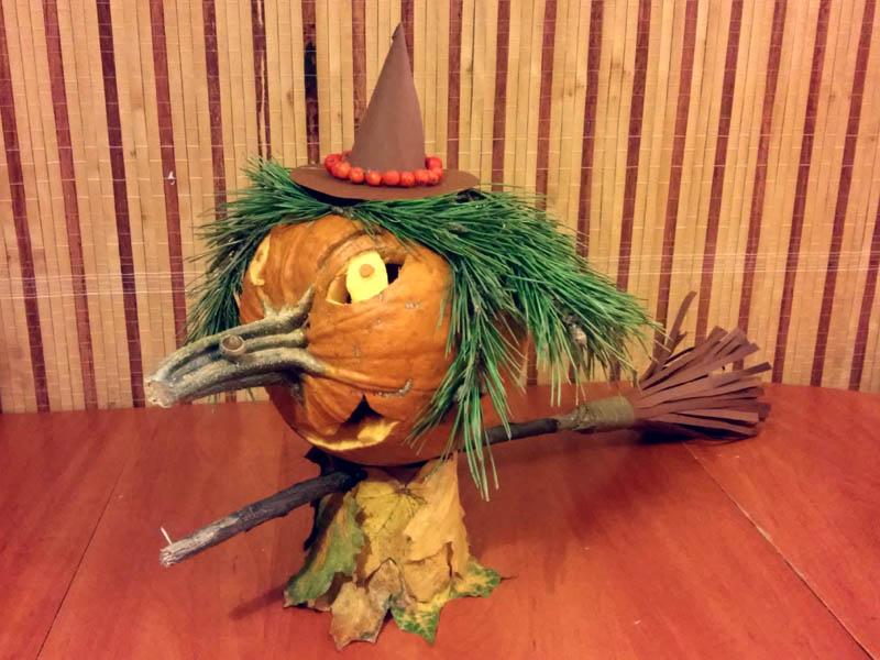 dynia na Halloween, Hogata