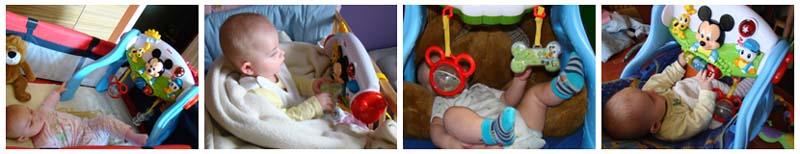 prezent dla niemowlaka, zabawki Disney
