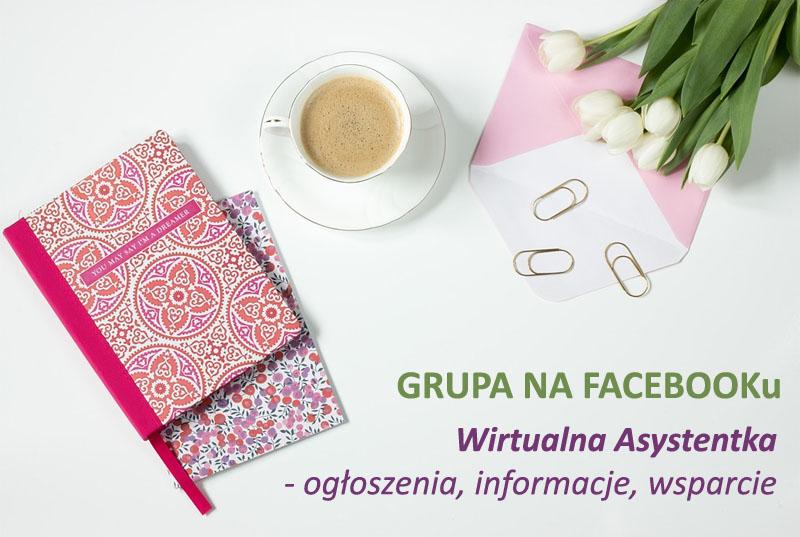 wirtualna asystentka, Ela Nieradko, grupa na fejsbuku