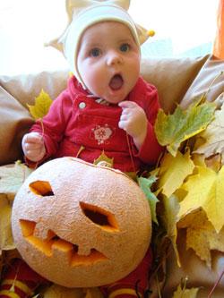 jesień z maluszkiem, pomysły na jesień