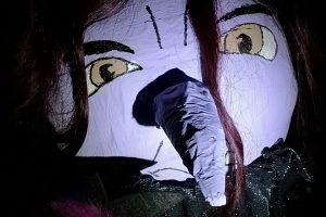 malowana dynia czarownica