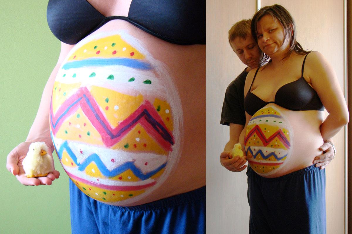 brzuch w ciąży