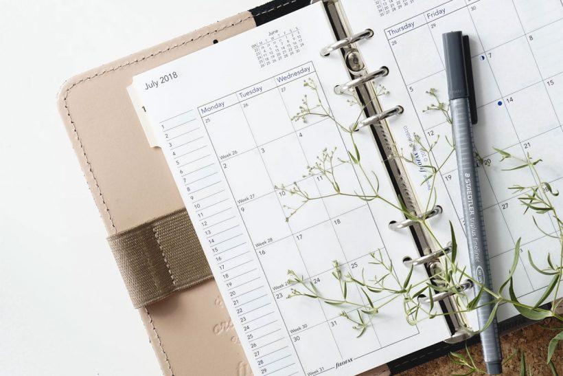 zaplanować miesiąc