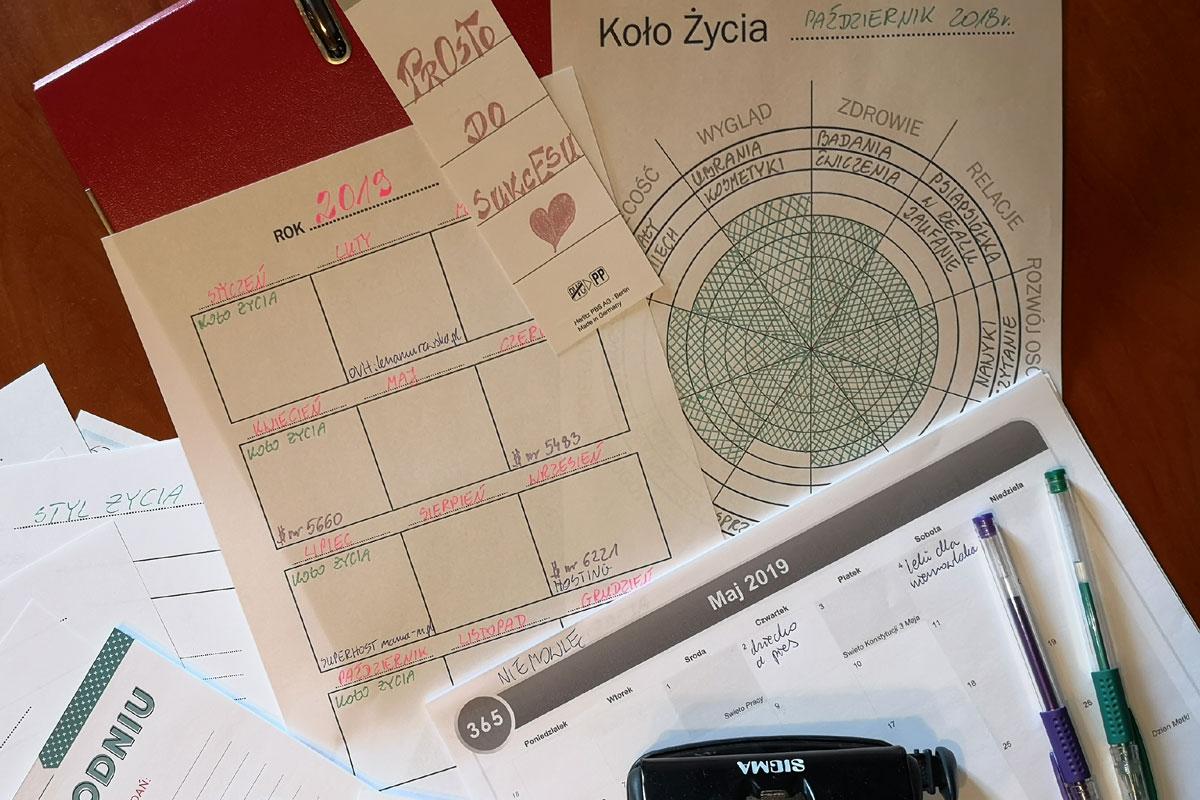 zaplanować rok